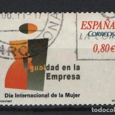 Sellos: TV_003/ ESPAÑA USADOS 2011, EDIFIL 4644, DIA INTERNACIONAL DE LA MUJER. Lote 240651055