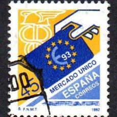 Sellos: EDIFIL 3226 ESPAÑA 1992 MERCADO ÚNICO. USADO. Lote 240914725