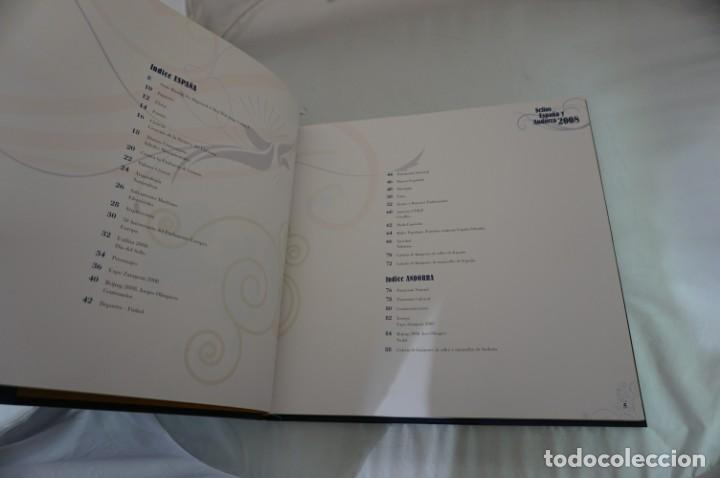 Sellos: ALBUM COMPLETO SELLOS ESPAÑA Y ANDORRA 2008 - IMPECABLE! - Foto 7 - 241345990