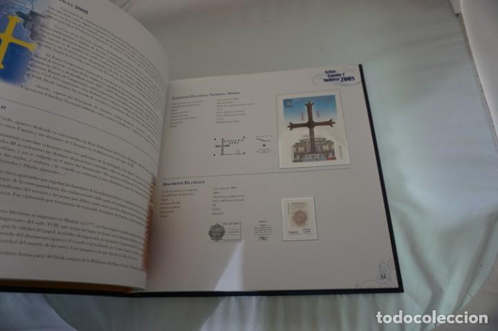 Sellos: ALBUM COMPLETO SELLOS ESPAÑA Y ANDORRA 2008 - IMPECABLE! - Foto 10 - 241345990
