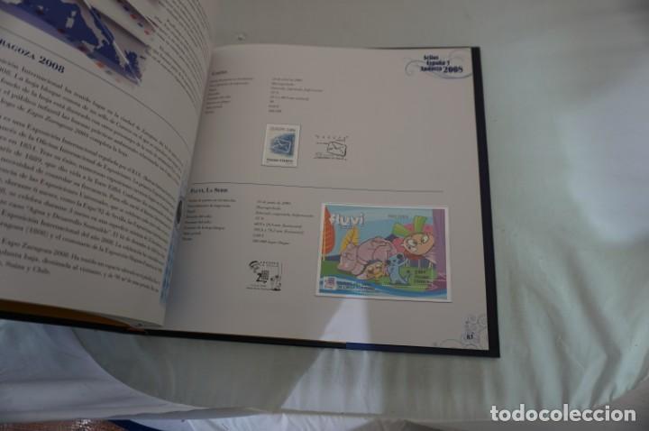 Sellos: ALBUM COMPLETO SELLOS ESPAÑA Y ANDORRA 2008 - IMPECABLE! - Foto 12 - 241345990