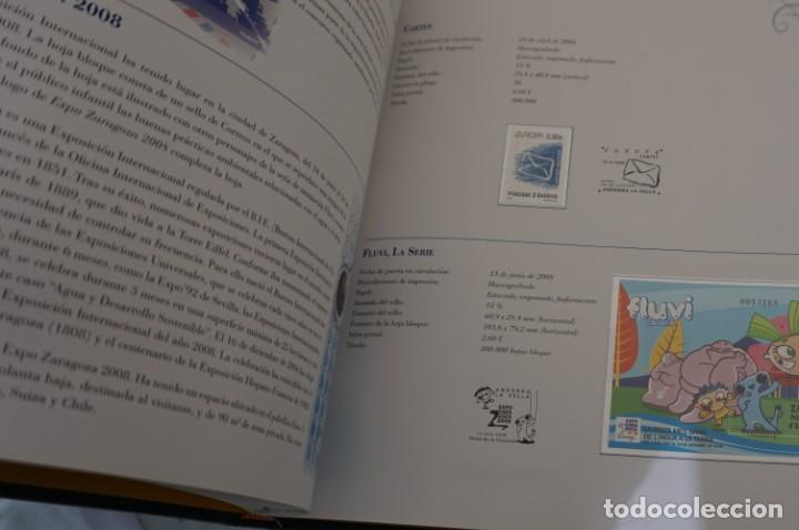Sellos: ALBUM COMPLETO SELLOS ESPAÑA Y ANDORRA 2008 - IMPECABLE! - Foto 13 - 241345990