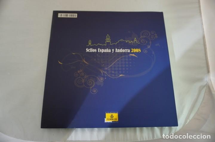 Sellos: ALBUM COMPLETO SELLOS ESPAÑA Y ANDORRA 2008 - IMPECABLE! - Foto 15 - 241345990