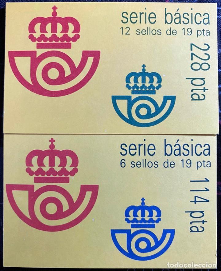 Sellos: 4 carnets serie básica 6 sellos de 19 pta y 4 carnets serie básica 12 sellos de 19 pta - Foto 2 - 241914250
