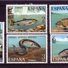 Sellos: ESPAÑA / SPAIN / ESPAGNE AÑO 1977 EDIFIL NR. 2403/07 NUEVO FAUNA HISPANICA. Lote 241978600