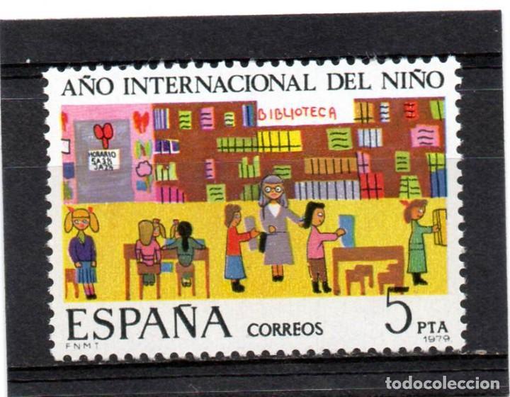 ESPAÑA / SPAIN / AÑO 1979 EDIFIL NR. 2519 NUEVO AÑO INTERNACIONAL DEL NIÑO (Sellos - España - Juan Carlos I - Desde 1.975 a 1.985 - Nuevos)