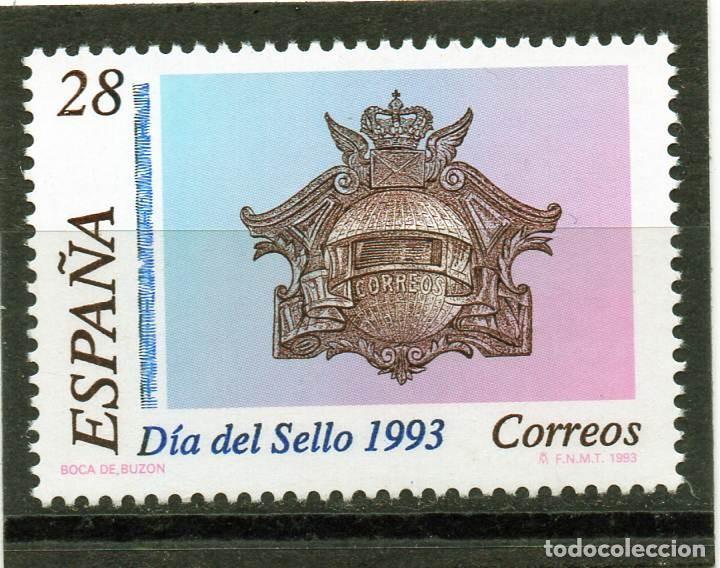 ESPAÑA / SPAIN / AÑO 1993 EDIFIL NR. 3243 NUEVO DIA DEL SELLO (Sellos - España - Juan Carlos I - Desde 1.975 a 1.985 - Nuevos)