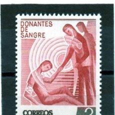 Sellos: ESPAÑA / SPAIN / AÑO 1976 EDIFIL NR. 2355 NUEVO DONANTES DE SANGRE. Lote 241993080