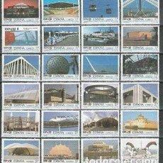 Sellos: ESPAÑA 1992. ( 16-461). SERIE : 24 VALORES. EXPO'92. SEVILLA. **.MNH. Lote 242161825