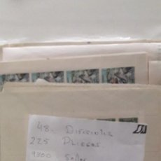 Sellos: SELLOS ESPAÑA LOTE DE MAS DE 220 PLIEGOS DE 48 MODELOS DIFERENTES VER FOTOGRAFIAS 9300 SELLOS. Lote 242303250