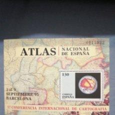 Sellos: 1995 CONFERENCIA INTERNACIONAL DE CARTOGRAFÍA EDIFIL 3388. Lote 242433555