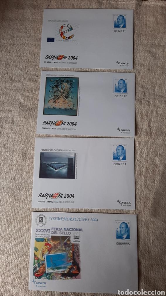 EDIFIL 92 SOBRES ENTERO POSTALES BARNAFIL 2004 (Sellos - España - Juan Carlos I - Desde 2.000 - Nuevos)