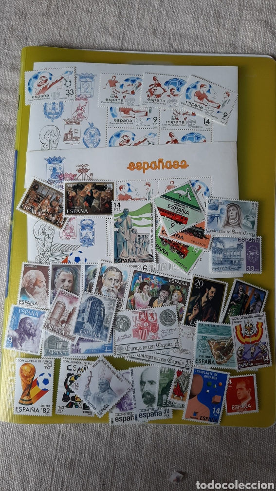 ESPAÑA 1982 AÑO COMPLETO NUEVOS FILATELIA COLISEVM VER MIS LOTES SELLOS MONEDAS BILLETES (Sellos - España - Juan Carlos I - Desde 1.975 a 1.985 - Nuevos)