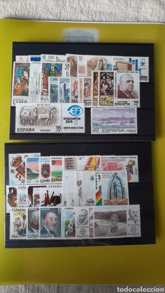 1983 ESPAÑA AÑO COMPLETO NUEVO O USADA FILATELIA COLISEVM VER MIS LOTES SELLOS MONEDAS BILLETES (Sellos - España - Juan Carlos I - Desde 1.975 a 1.985 - Nuevos)