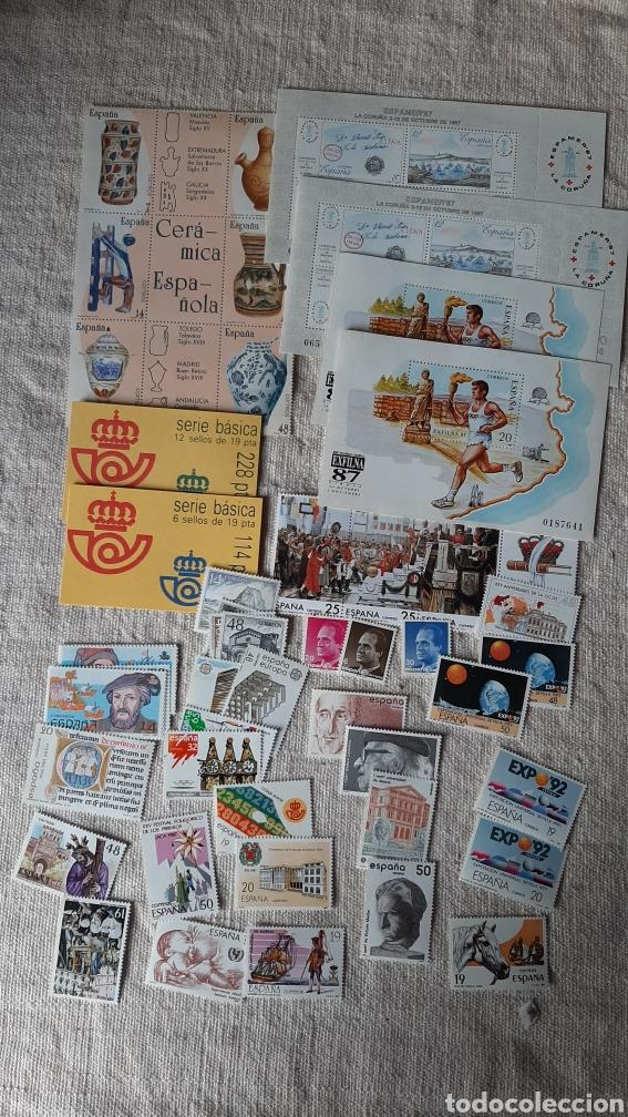 1987 ESPAÑA COMPLETA CIN DOS HIJAS CADA Y CARNETS 228 Y 124 REY (Sellos - España - Juan Carlos I - Desde 1.986 a 1.999 - Nuevos)