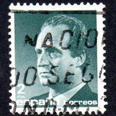 Sellos: EDIFIL 2829 ESPAÑA 1986 SERIE BÁSICA S.M. DON JUAN CARLOS I. USADO. Lote 243518130