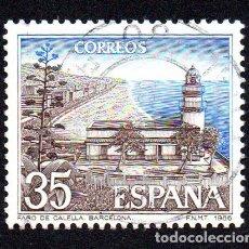 Sellos: EDIFIL 2838 ESPAÑA 1986 PAISAJES Y MONUMENTOS. USADO. Lote 243518335