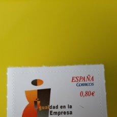 Sellos: IGUALDAD EMPRESA DÍA INTERNACIONAL MUJER 2011 ESPAÑA EDIFIL 46644 NUEVA O USADA SOLICITA. Lote 244185590
