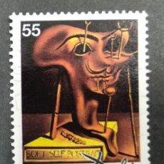 Sellos: EDIFIL 3294 ESPAÑA 1994 90 ANIVERSARIO DEL NACIMIENTO DE SALVADOR DALÍ, USADO. Lote 244427835