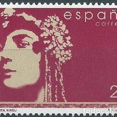 Sellos: 1999. ESPAÑA. EDIFIL 3152**MNH. MARGARITA XIRGÚ. ACTRIZ. TEATRO. CULTURA.. Lote 244608680