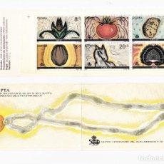 Sellos: ESPAÑA 1989 CARNÉ V CENTENARIO DEL DESCUBRIMIENTO DE AMÉRICA. Lote 244636335