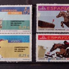Sellos: ESPAÑA 2002 - JEREZ MUNDIAL DE HIPICA. Lote 244702175