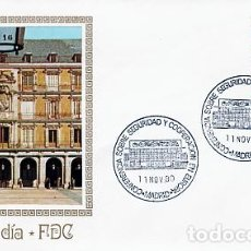 Sellos: ESPAÑA.- 2592 SOBRE ILUSTRADO CON MATASELLOS CONFERENCIA DE SEGURIDAD MADRID. Lote 244710200