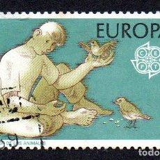 Sellos: EDIFIL 2847 ESPAÑA 1986 EUROPA. USADO. Lote 244710710