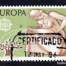 Sellos: EDIFIL 2848 ESPAÑA 1986 EUROPA. USADO. Lote 244710765