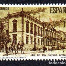Sellos: EDIFIL 2849 ESPAÑA 1986 DÍA DE LAS FUERZAS ARMADAS. USADO. Lote 244710900