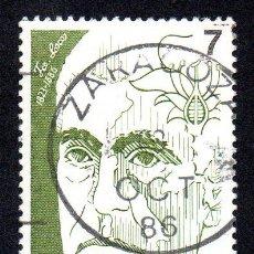 Sellos: EDIFIL 2853 ESPAÑA 1986 PERSONAJES. USADO. Lote 244711225
