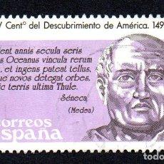 Sellos: EDIFIL 2861 ESPAÑA 1986 V CENTENARIO DESCUBRIMIENTO AMÉRICA. USADO. Lote 244711950