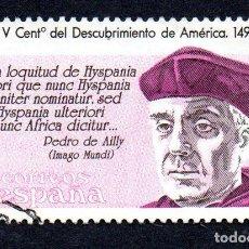 Sellos: EDIFIL 2863 ESPAÑA 1986 V CENTENARIO DESCUBRIMIENTO AMÉRICA. USADO. Lote 244712065