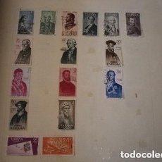 Sellos: ESPAÑA - LOTE DE 16 SELLOS USADOS. Lote 244770565