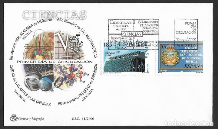 ESPAÑA - SPD. EDIFIL NSº 3708/11 CON DEFECTOS AL DORSO (Sellos - España - Juan Carlos I - Desde 2.000 - Cartas)