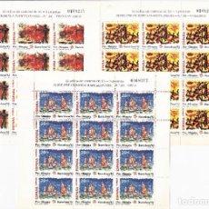Sellos: ESPAÑA 1992 3 MINI PLIEGOS BARCELONA 92 VIII SERIE PRE- OLÍMPICA. Lote 245199105
