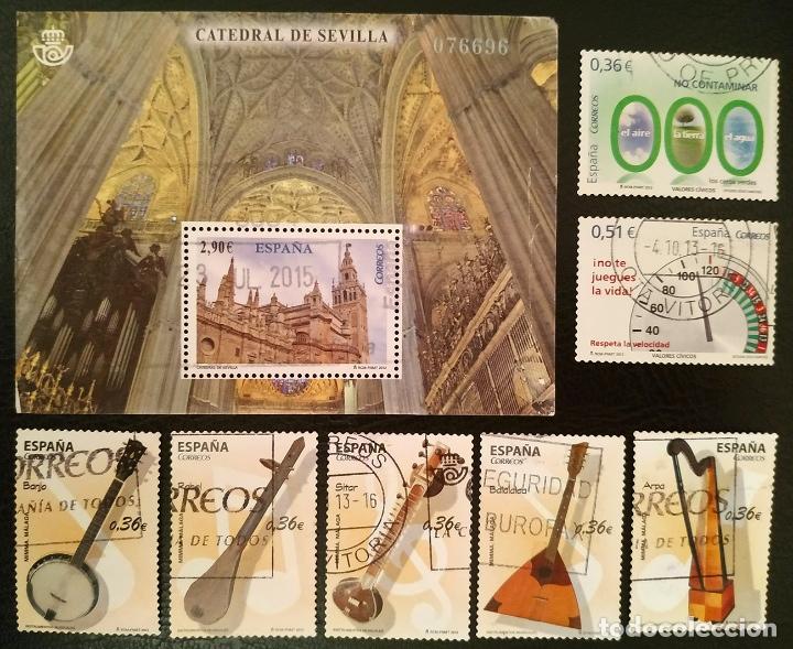 LOTE CON SELLOS 2012 USADOS (Sellos - España - Juan Carlos I - Desde 2.000 - Usados)