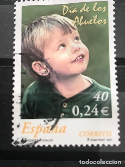 EDIFIL 3811 SELLOS USADOS DE ESPAÑA AÑO 2001 1111 (Sellos - España - Juan Carlos I - Desde 2.000 - Usados)