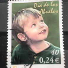 Sellos: EDIFIL 3811 SELLOS USADOS DE ESPAÑA AÑO 2001 1111. Lote 245381195