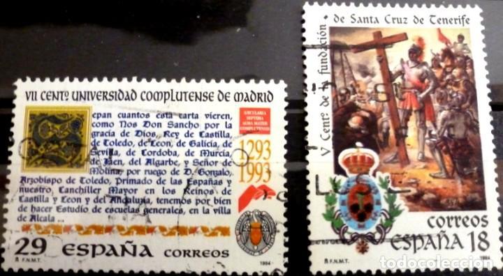 SELLOS ESPAÑA 1994 - FOTO 188 - Nº 3299, COMPLETA,USADO (Sellos - España - Juan Carlos I - Desde 1.986 a 1.999 - Usados)
