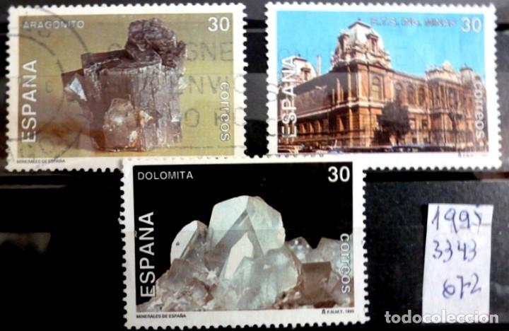 SELLOS ESPAÑA 1995 - FOTO 196 - Nº 3343, COMPLETA,USADO (Sellos - España - Juan Carlos I - Desde 1.986 a 1.999 - Usados)