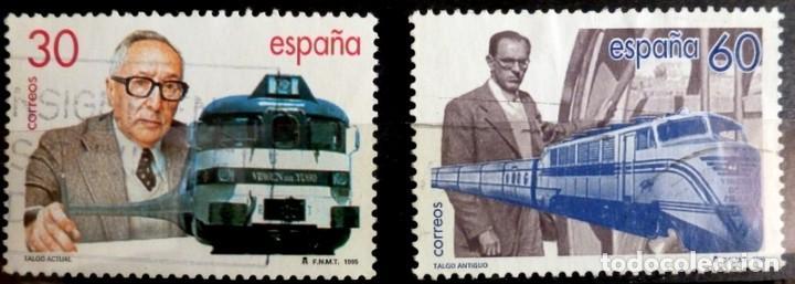 SELLOS ESPAÑA 1995 - FOTO 197 - Nº 3347, COMPLETA,USADO (Sellos - España - Juan Carlos I - Desde 1.986 a 1.999 - Usados)
