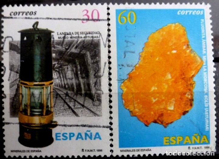 SELLOS ESPAÑA 1996 - FOTO 201 - Nº 3408, COMPLETA,USADO (Sellos - España - Juan Carlos I - Desde 1.986 a 1.999 - Usados)