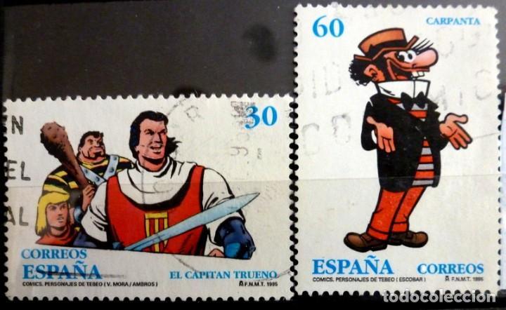 SELLOS ESPAÑA 1995 - FOTO 202 - Nº 3359, COMPLETA,USADO (Sellos - España - Juan Carlos I - Desde 1.986 a 1.999 - Usados)