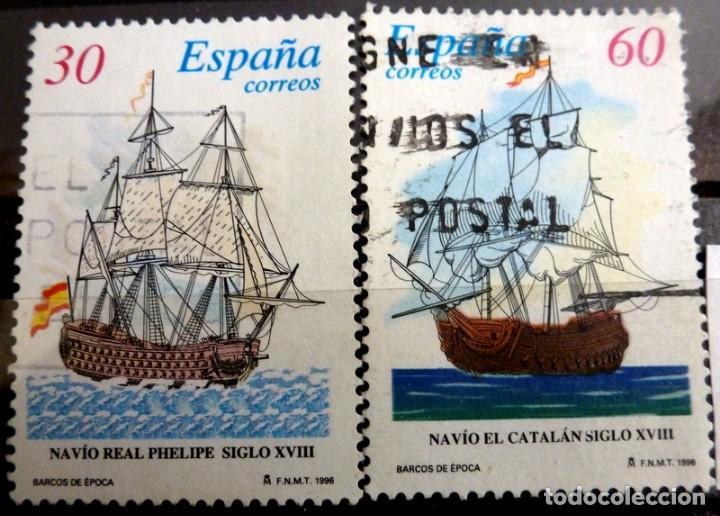 SELLOS ESPAÑA 1996 - FOTO 203 - Nº 3413, COMPLETA,USADO (Sellos - España - Juan Carlos I - Desde 1.986 a 1.999 - Usados)