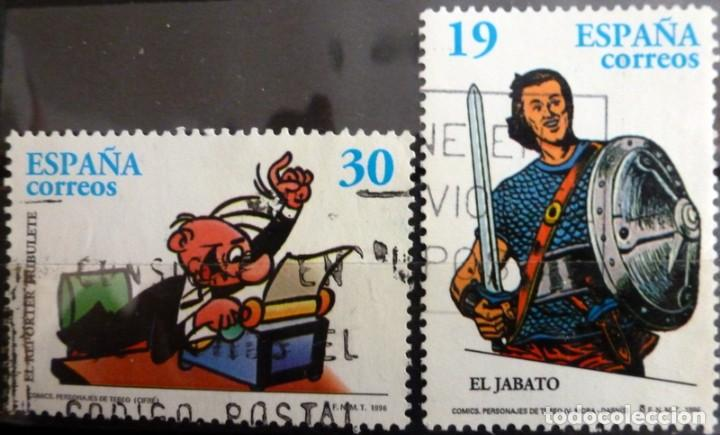 SELLOS ESPAÑA 1996 - FOTO 208 - Nº 3435, COMPLETA,USADO (Sellos - España - Juan Carlos I - Desde 1.986 a 1.999 - Usados)