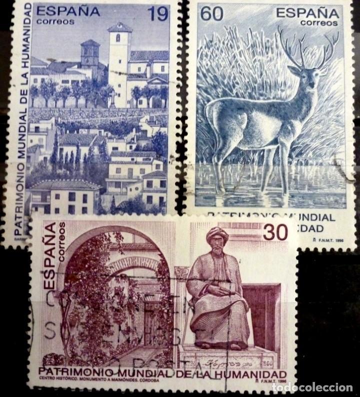 SELLOS ESPAÑA 1996 - FOTO 210 - Nº 3453, COMPLETA,USADO (Sellos - España - Juan Carlos I - Desde 1.986 a 1.999 - Usados)
