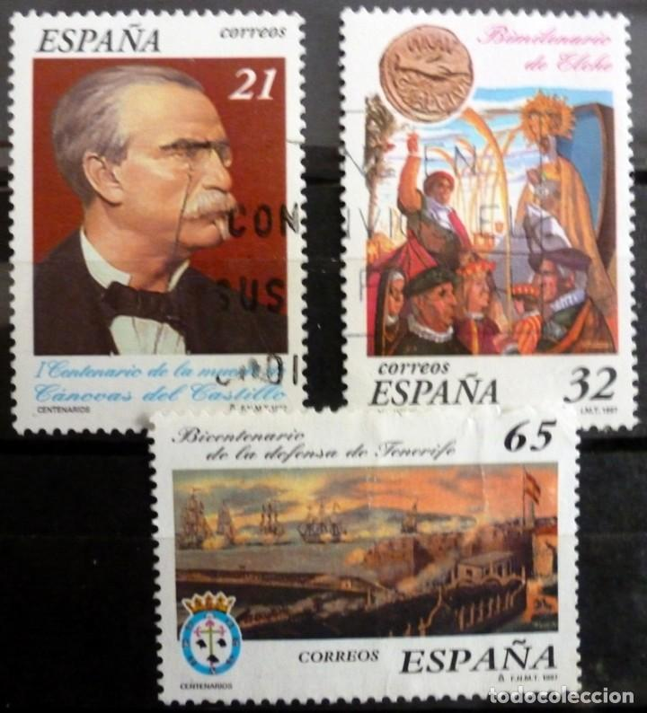 SELLOS ESPAÑA 1997 - FOTO 213 - Nº 3498, COMPLETA,USADO (Sellos - España - Juan Carlos I - Desde 1.986 a 1.999 - Usados)
