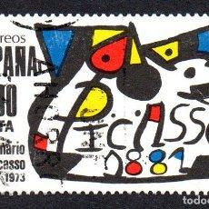Sellos: EDIFIL 2609 ESPAÑA 1981 HOMENAJE A PICASSO. USADO. Lote 245738985