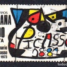 Sellos: EDIFIL 2609 ESPAÑA 1981 HOMENAJE A PICASSO. USADO. Lote 245738995